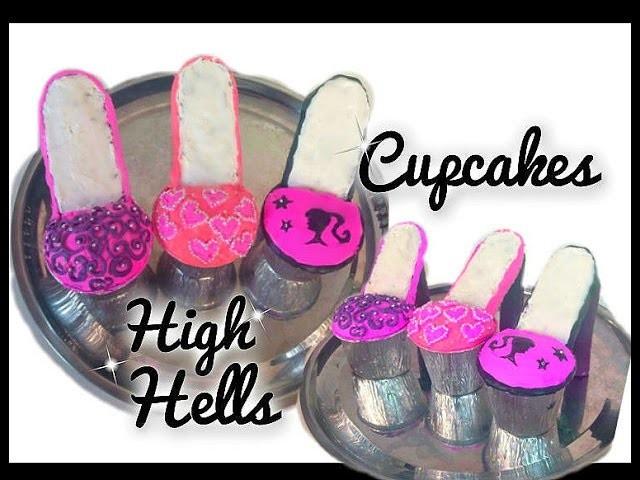 Cupcakes en forma de Zapatitos!