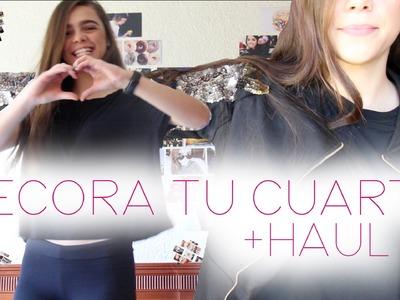 DECORA TU CUARTO CON FOTOS + HAUL DRESSIN.COM ♡