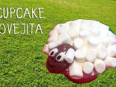 Decoracion cupcakes infantiles | Cómo hacer un cupcake oveja
