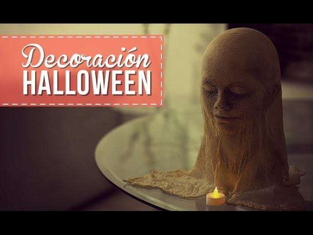 Decoración fácil para Halloween! -Anie