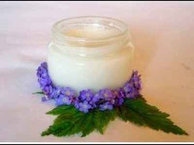 Desodorante casero en crema o sólido. Homemade deodorant solid or cream. DIY Ecodaisy.