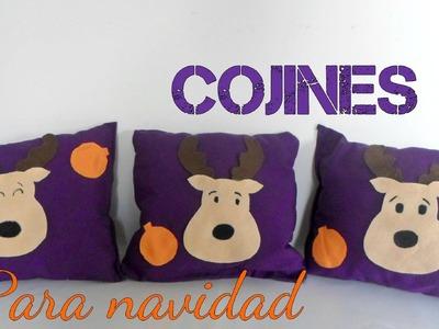 DIY COJINES NAVIDEÑOS