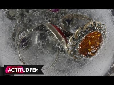 DIY: Cómo limpiar joyas (joyería) en casa. Dar brillo a tus joyas de fantasia