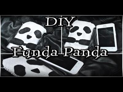 DIY ♥ Funda de Panda para celular ♥ FÁCIL ♥