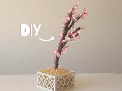 DIY- LAMPARA CON FORMA DE ÁRBOL (decora tu habitación)