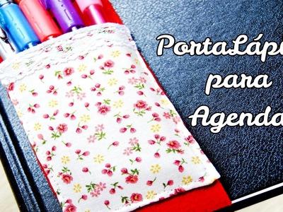 DIY : Porta Lápices de tela para tu agenda o cuaderno.libreta. Día de la madre*