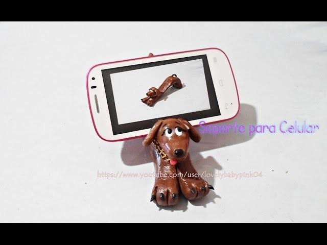 DIY Soporte para celular casero porcelana fría.Mobile Holder