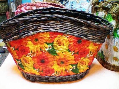 """El bolso de verano """"Un campo de flores"""". Parte 7."""