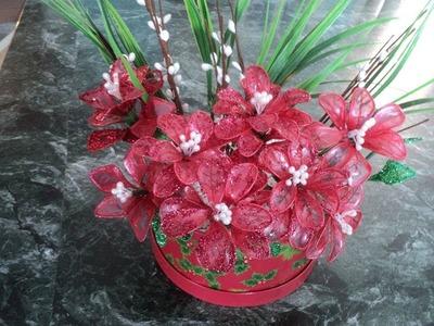 Flores de fantasía de gelatina