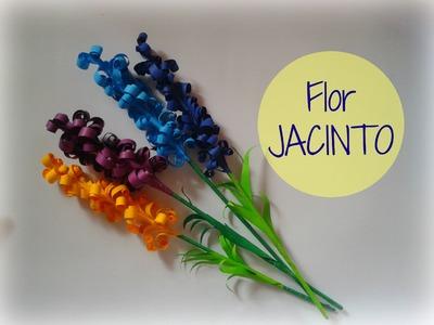 Flores de papel (Jacinto) | Manualidades Ani Crafts | Decoración de Cuarto!