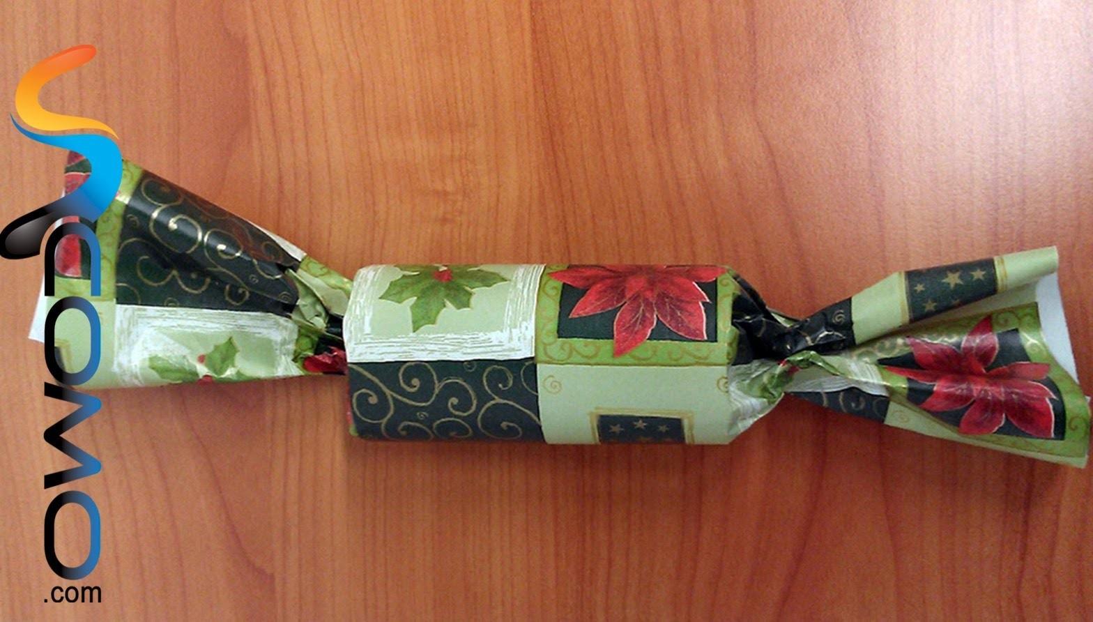 Hacer un Christmas Cracker en casa