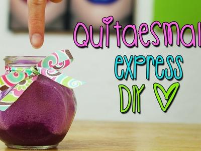 Haz tu Quitaesmalte Express - Casero - ¡No más algodón!