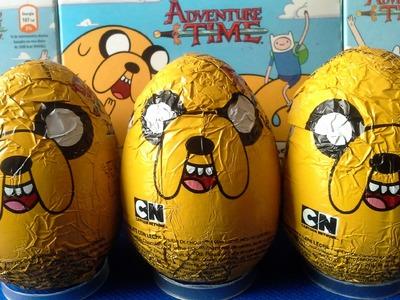 Huevos Sorpresa Hora de aventura en español |JuguetesYSorpresas