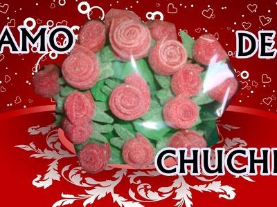 IDEAS DE REGALOS: Rosa de gominola!!