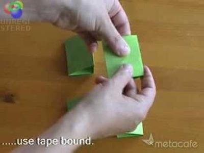 Impresionante juego de papel