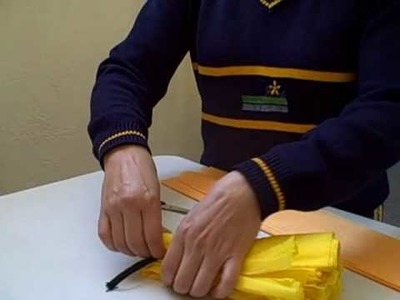 Instrucciones para elaborar pompones de crepé