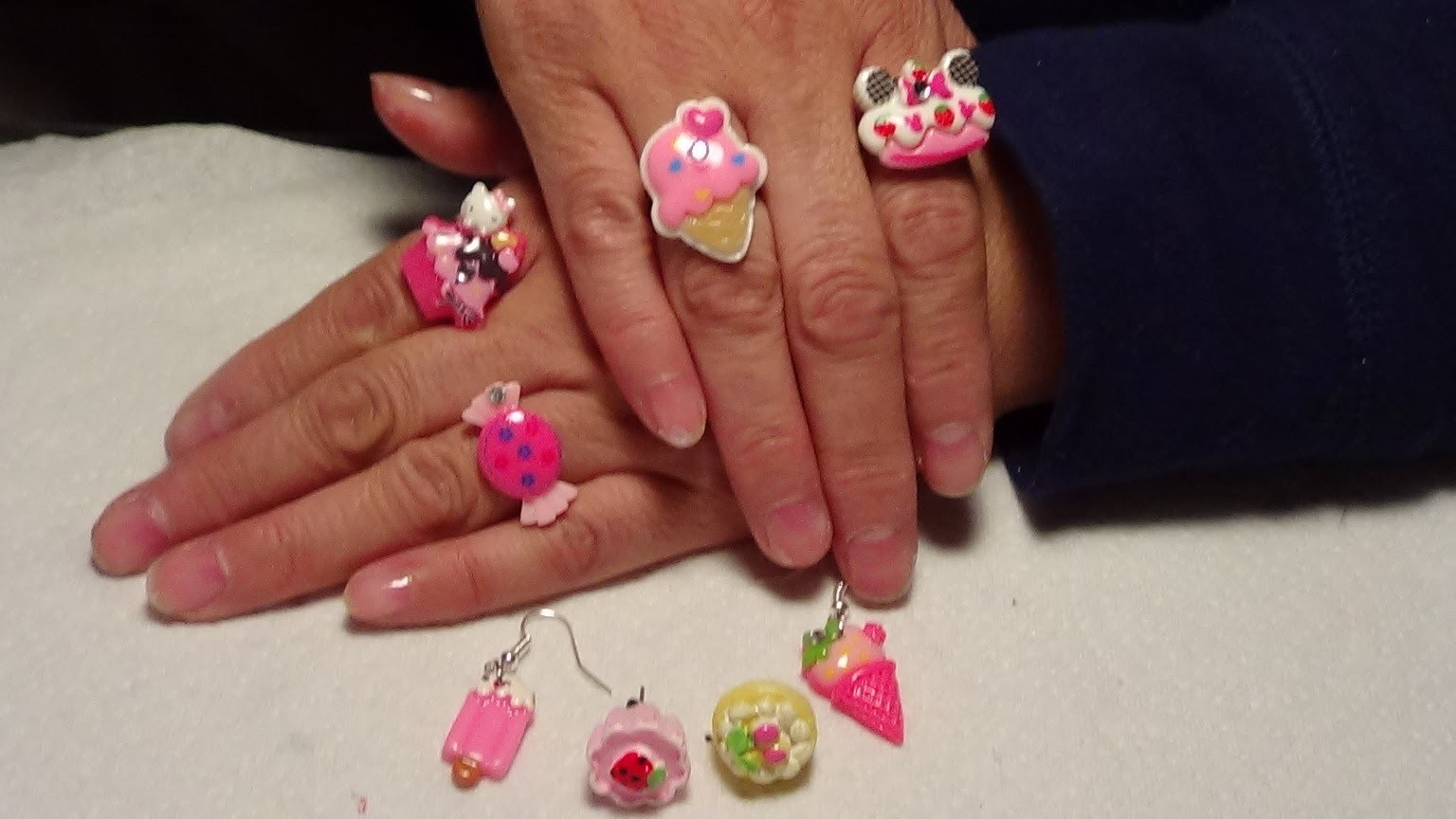 Manualidad: Aretes y anillos