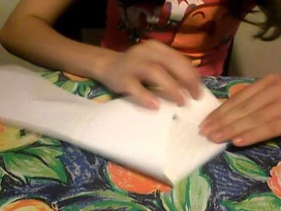 Manualidades:Como hacer estrellas de papel GIGANTES