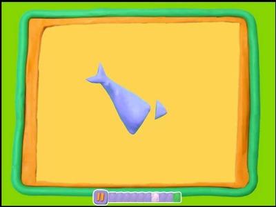 Manualidades con Plastilina: tiburón de plastilina
