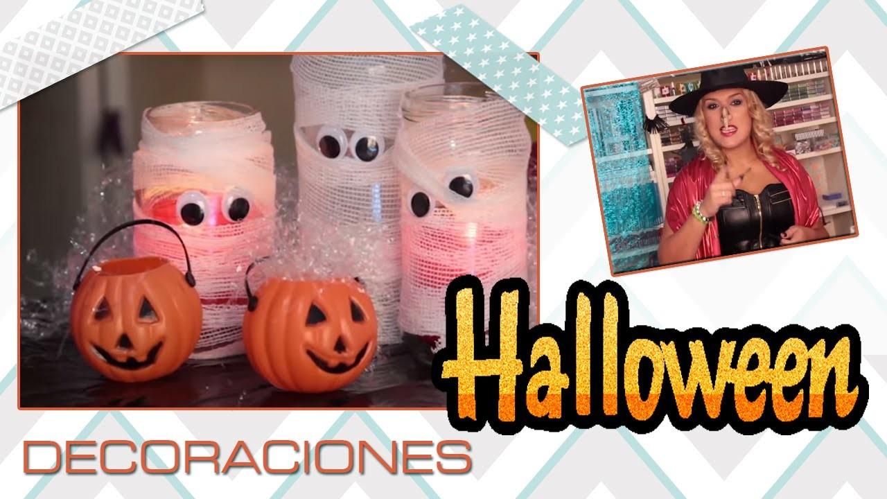 Manualidades creaciones para decorar cualquier fiesta de Halloween.