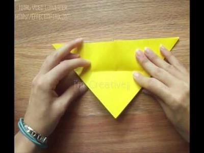 Mariposa de papel.como HACER