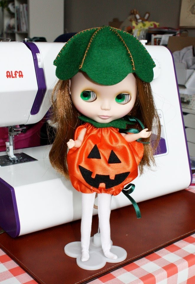 Nairamkitty DIY: Tutorial como hacer un Disfraz Calabaza Halloween (Patrones gratis)