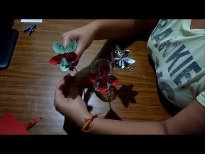Origami Manualidades con papel Como hacer flores en Origami (con Papel)