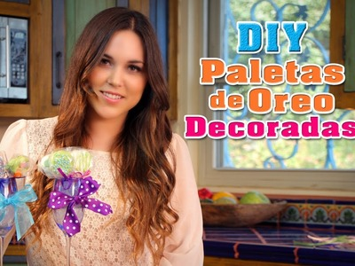 Paletas de Oreo Decoradas - Fun DIY's con Karla