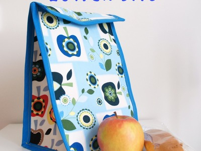 PINAFILI FILMS. TUTORIAL PARA HACER UN LUNCH BAG.
