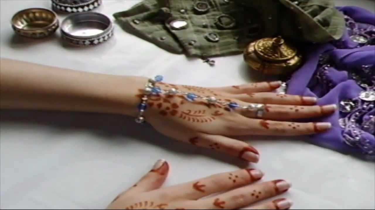 Pulsera con anillo o pulsera arabe.