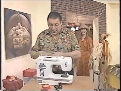 Puntos y Puntadas 60. Técnicas de costura. Uso del ruloté. Hermenegildo Zampar.