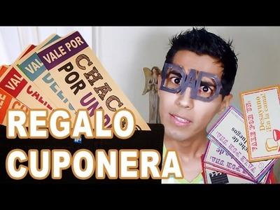 REGALO CUPONERA #DIY Día del padre + Descargables + Lentes Geeks