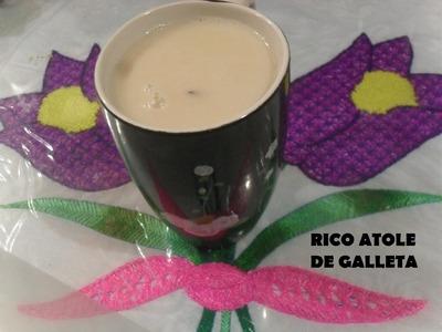 RICO ATOLE DE GALLETA ( LOS ANGELES COCINAN )