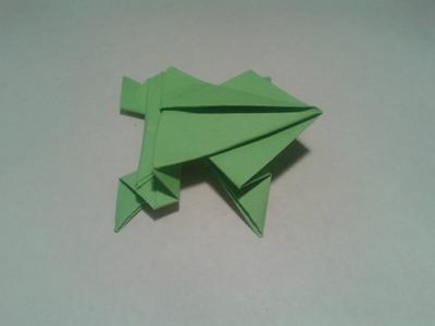Shinyorigami: Como hacer ranas de papel (saltarinas)
