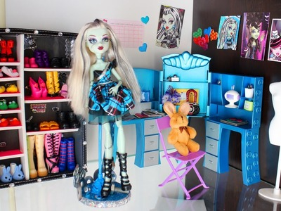 Tour de el Cuarto de Frankie + Enlaces a Manualidades para Frankie de Monster High