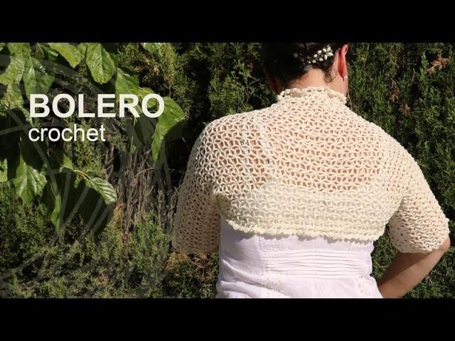 Tutorial Bolero Fácil Crochet o Ganchillo en Español
