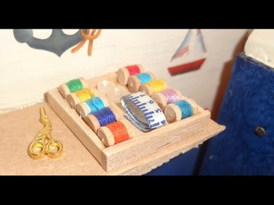 Tutorial: ¿Cómo hacer madejas de hilo para tu casa de muñecas Barbie? (Miniatura)