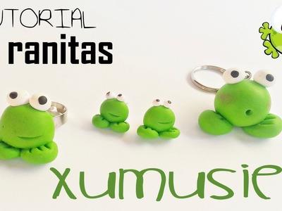 Tutorial De Ranitas | Llavero, Anillo y Pendientes!