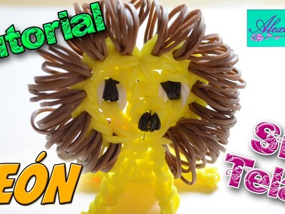 ♥ Tutorial: León en 3D de gomitas (sin telar) ♥
