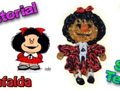 ♥ Tutorial: Mafalda de gomitas (sin telar) ♥