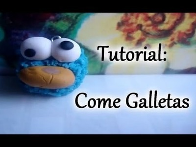 Tutorial: Moustro Come Galletas ♥ (Arcilla polimerica.Porcelana fria)