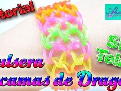 ♥ Tutorial: Pulsera escamas de dragón (sin telar)   NIVEL AVANZADO  ♥