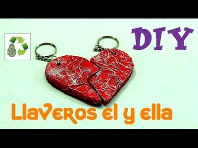 154. DIY LLAVERO (RECICLAJE DE CARTON)