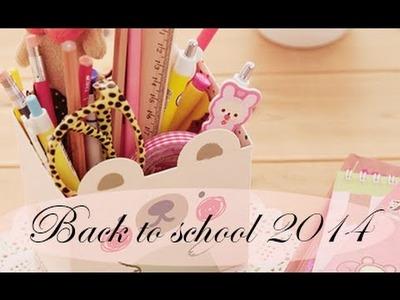 BACK TO SCHOOL 2014 || VUELTA AL COLE || MOCHILA, ESTUCHE, MATERIAL ESCOLAR.  ♥ Tuchi Cuchi