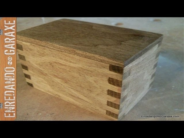 Cajita de nogal. Small walnut box