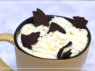 Chocolate Caliente De Cookies & Cream! - Kloquis