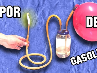 Como Aislar el Vapor de Gasolina | Isolate as gasoline vapor