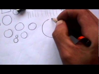 Cómo dibujar con lapices. Principiante.