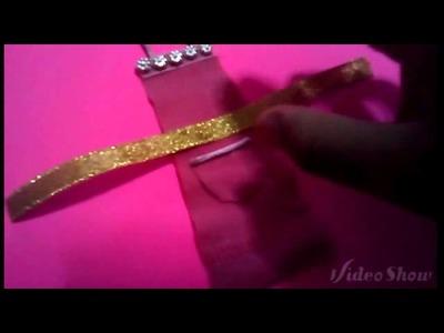Como hacer un delantal y guantes de cocina para tus muñecas