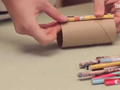Cómo hacer un portalápices | Portalápices reciclado | @iMujerHogar